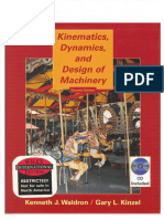 Waldron, Kenneth J. & Gary L. Kinzel - Kinematics, Dynamics and Design of Machinery (2004)(Www.hamipaper.ir)