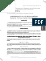 USP 39 Specified Microorganisms Test