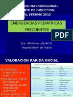 Emergencias Pediátricas - Dra. Herminia Lázaro