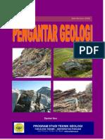 Cover Buku Pengantar Geologi