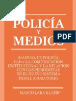 Instituto de Justicia Procesal Penal Manual Policia y Medios de Marco Lara Klahr