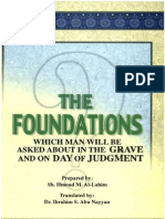 THE FOUNDATIONS WHICH MAN WILL BE ASKED ABOUT IN THE GRAVE AND ON THE DAY OF JUDGMENT