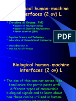 Human Machine Interaction Introduction 2002