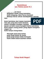 Kumpulan Puisi X.1