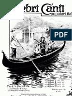 Celebri Canti Popolari Italiani Vol4