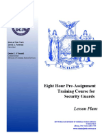 8-Hour Pre-Assignment Training Course