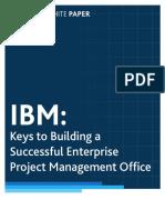 IBM-Keys to Building Successful Enterprise Project Management Office