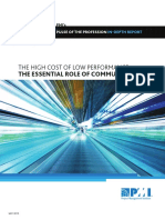 PMI Indepth Report_The High Cost of Low Performance-The Essential Role of Communications