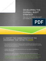 Overall Audit Strategy