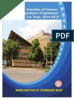 UG CouStudy 2014-15
