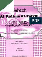 Saheeh Al-kalime At-Taiyib