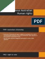 indigenous asutralian human rights