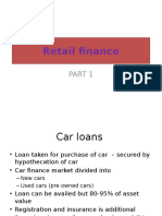 Retail Finance Part 1 - CCHLCL