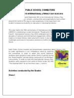 DPS Coimbatore ILD 2016 Report