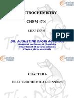 Chapter6 4700E Electrochemical Sensors