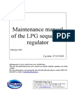 ENG - Sequential LPG Reducer Maintenance Guide