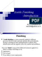 Textile Finishing Introduction