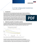Dielectric Analysis of Power Transformers