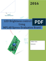 MPLAB Xpress Evaluation Board LED_Brightness Control_POT