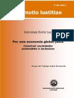 Por Una Economía Global Justa