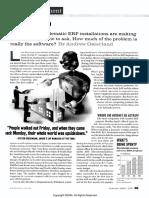 Blaming ERP