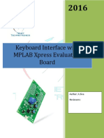 Interfacing Keyboard with MPLAB Xpress Evalaution Board