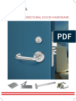 Universal Levers & Locks Awareness Brochure