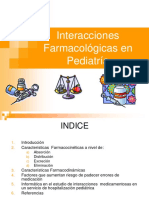 Interacciones Farmacologicas en Pediatria