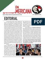 """""""Revolución Latinoamericana"""", boletín político de la Izquierda Guevarista de Chile"""
