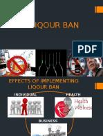 Liqour Ban