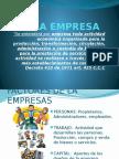 Empresa y Su Clasificacion.