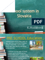 School system in Slovakia.ppt