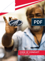 M M Code of Conduct for Employees