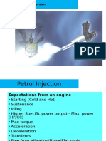 IC Engine Notes Petrol Injection System