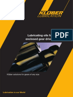 Lubrication Oils for Enclosed Gear Drives