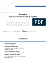 Bosnia Outlook July 2016