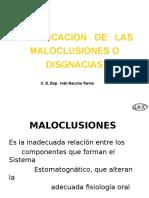 clasificacion de la maloclusión.ppt