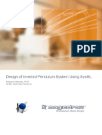 SysML Inverted Pendulum System
