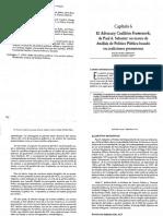 Serrano - Advocay Coalition Framework