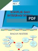 Bab 3 Konflik Dan Integrasi Sosial