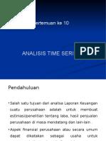 9.Analsisis Time Series