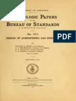 Design of Atmospheric Gas Burners