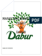 STP Analysis of Dabur