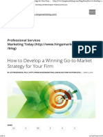 How to Develop a Winning Go-To-Market Strategy for Your Firm _ Hinge Marketing