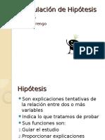 Cap .6 Formulacion de Hipotesis