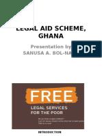 Legal Aid Scheme Bimbilla, Ghana