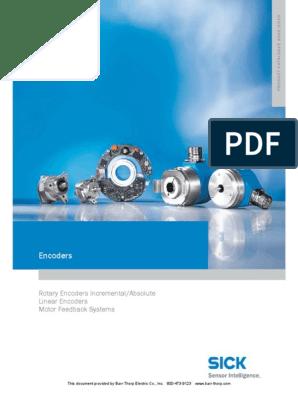 9 Sick Encoders Catalog Motor Feedback Systems With ... Danaher Encoders Wiring Diagram on