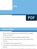 SQL With Mysql