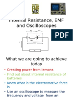 Internal Resistance Emf and Oscilloscopesppt1005