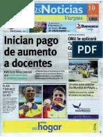 Últimas Noticias Vargas sábado 10 septiembre  de  2016